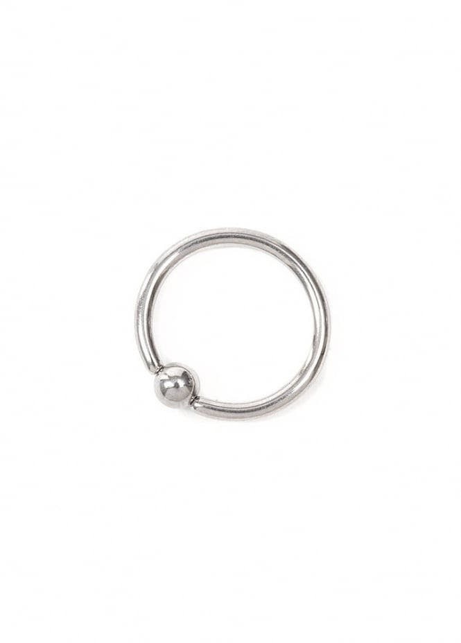 Body Vibe Split Ring Nose Hoop 10mm