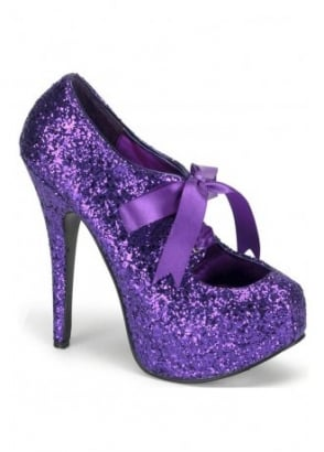 Teeze-10G Glitter Bow Shoe