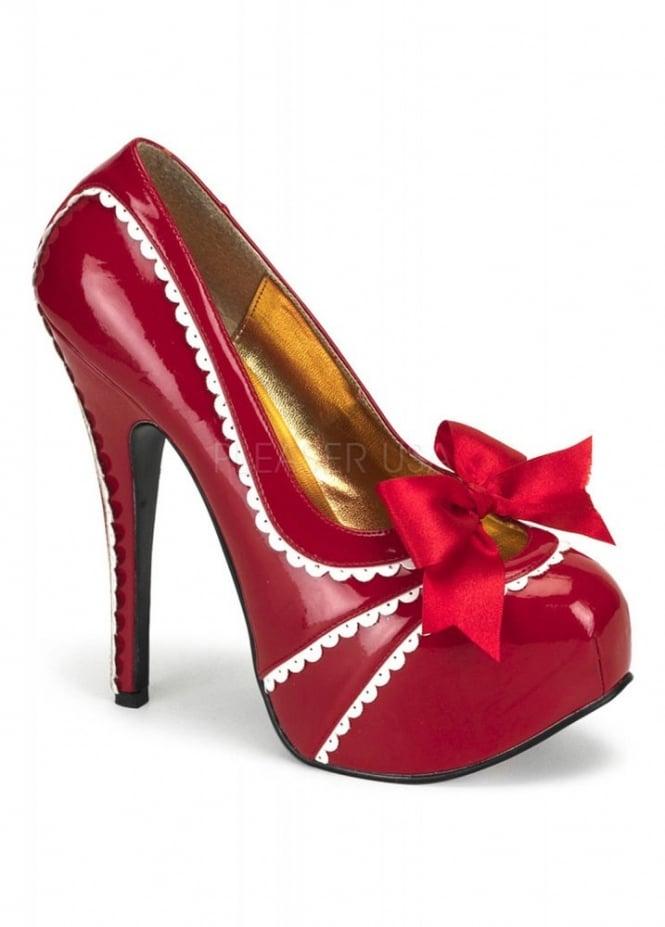 Bordello Shoes Teeze-14 Bow Trim Shoe