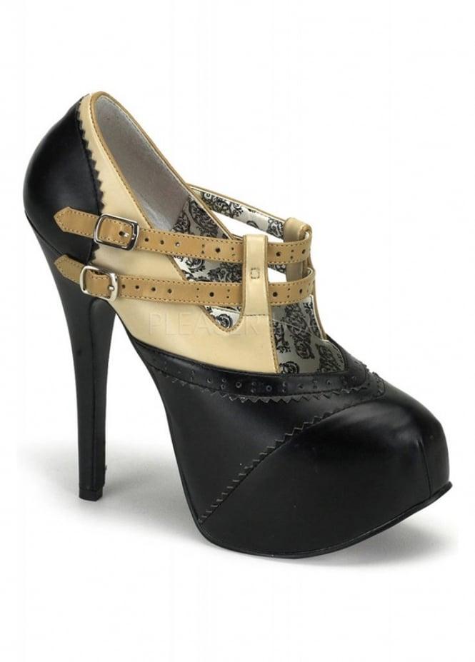 Bordello Shoes Teeze-24 Strap Shoe