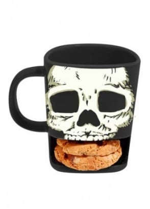 Brew Buddies Skull Mug