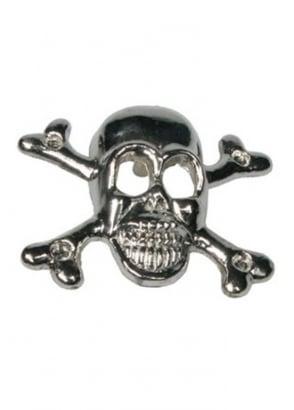 10 x Skull & Crossbones Studs