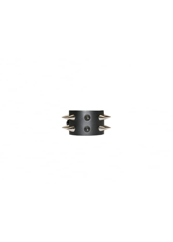 Bullet 69 2 Row Conical Spike Stud Wristband