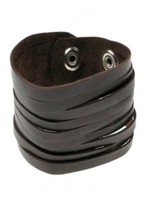 Cut Leather Cuff