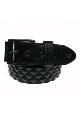 Diagonal Pyramid Stud Belt