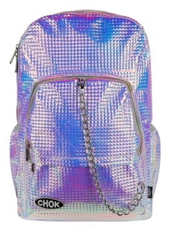 Holo Square Stud Backpack