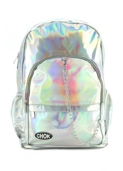 Holo Starlight Silver Backpack
