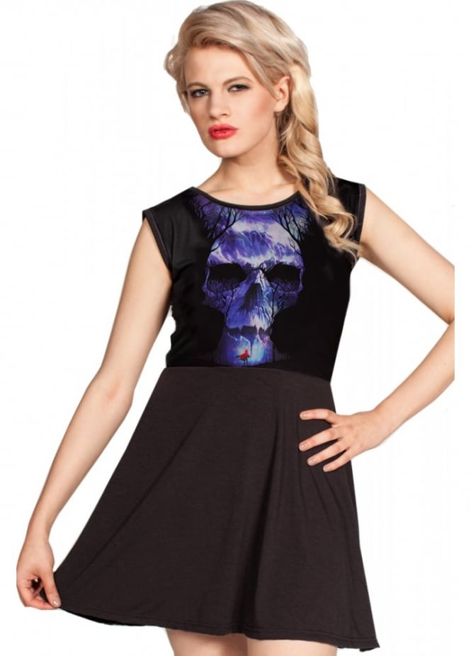 Cold Heart Gates Of Hell Skater Dress