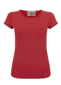 Alice Mini Polka Dot T-Shirt