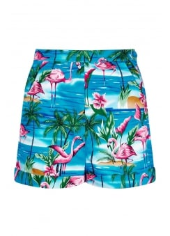 Ayana Flamingo Island Shorts
