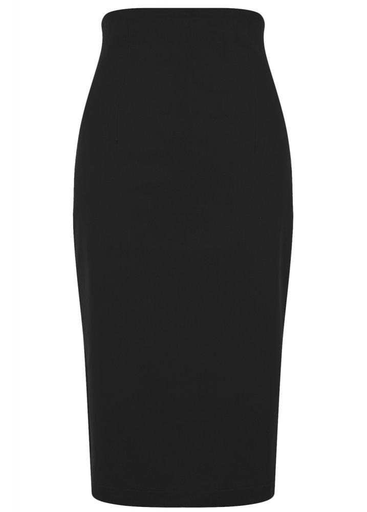bef65fd26d1143 Collectif Clothing Fiona Plain Pencil Skirt