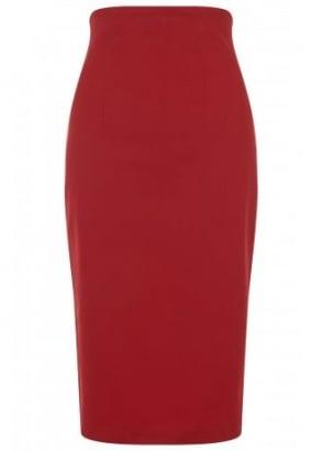 Fiona Plain Pencil Skirt