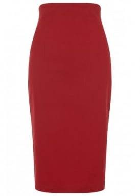 Fiona Plain Pencil Skirt