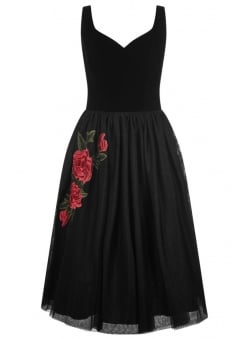 Isla Rose Retro Swing Dress