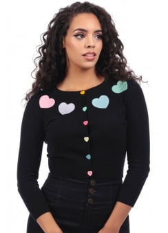 Jessie Rainbow Love Cardigan