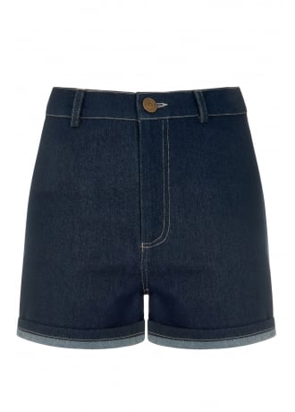 Collectif Clothing Lily Denim Shorts