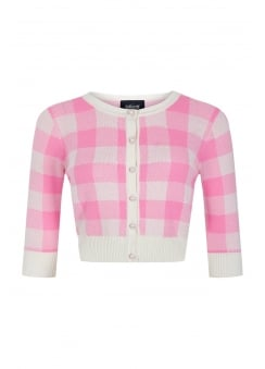 Lucy Gingham Cardigan