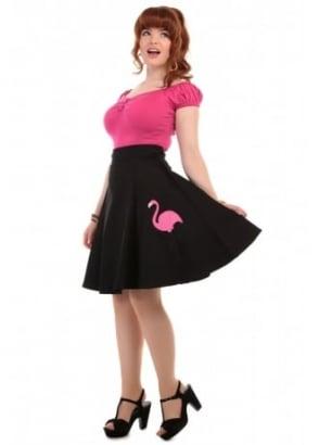 Tammy Flamingo Skirt