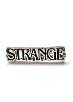 Strange Pin Badge