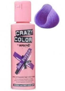 Hot Purple Hair Colour