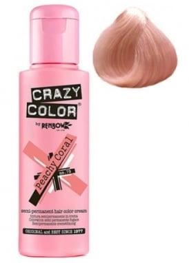 Peachy Coral Hair Colour