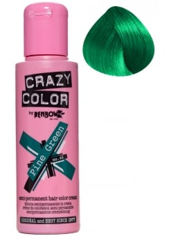 Pine Green Hair Colour