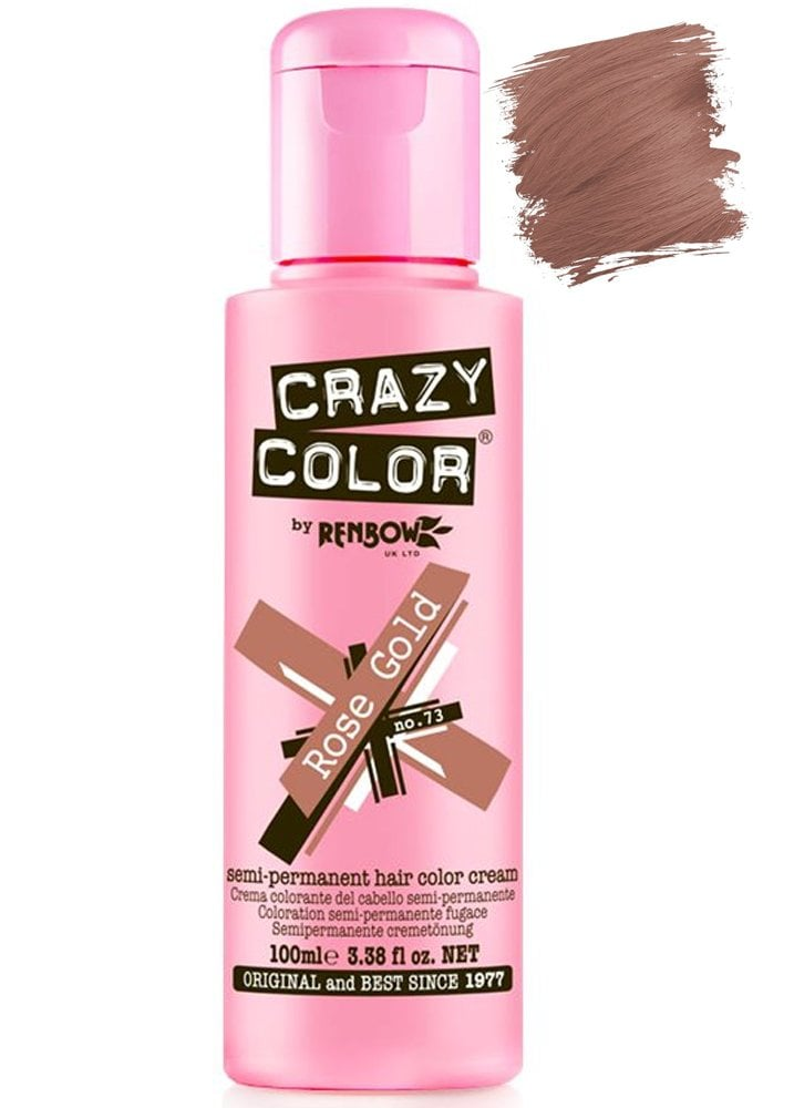 Crazy Colour Semi-Permanent Hair Colour | Attitude Clothing
