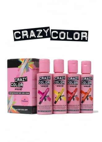 Crazy Color Semi-Permanent Hair Colour Cream