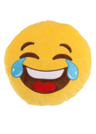 Crying Laugh Emoji Cushion