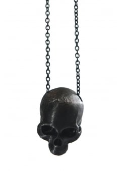 3D Printed Human Skull Necklace