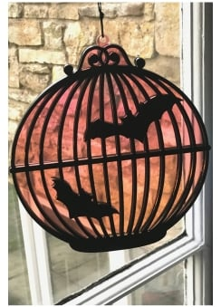 Bats In The Birdcage Window Art