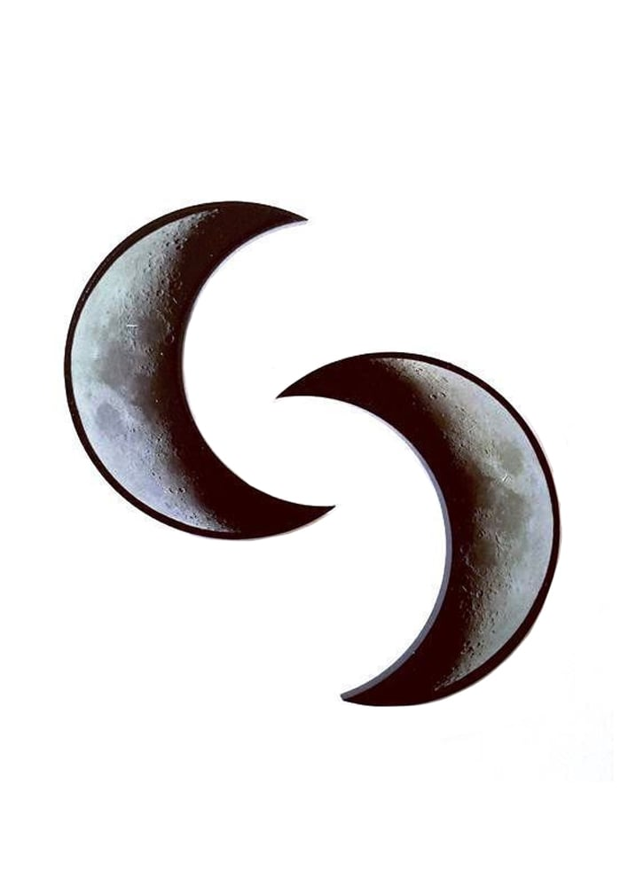 Curiology Crescent Moon Hair Clips Attitude Clothing