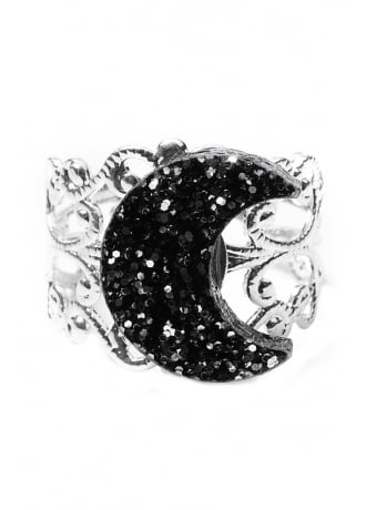 Curiology Crescent Moon Ring
