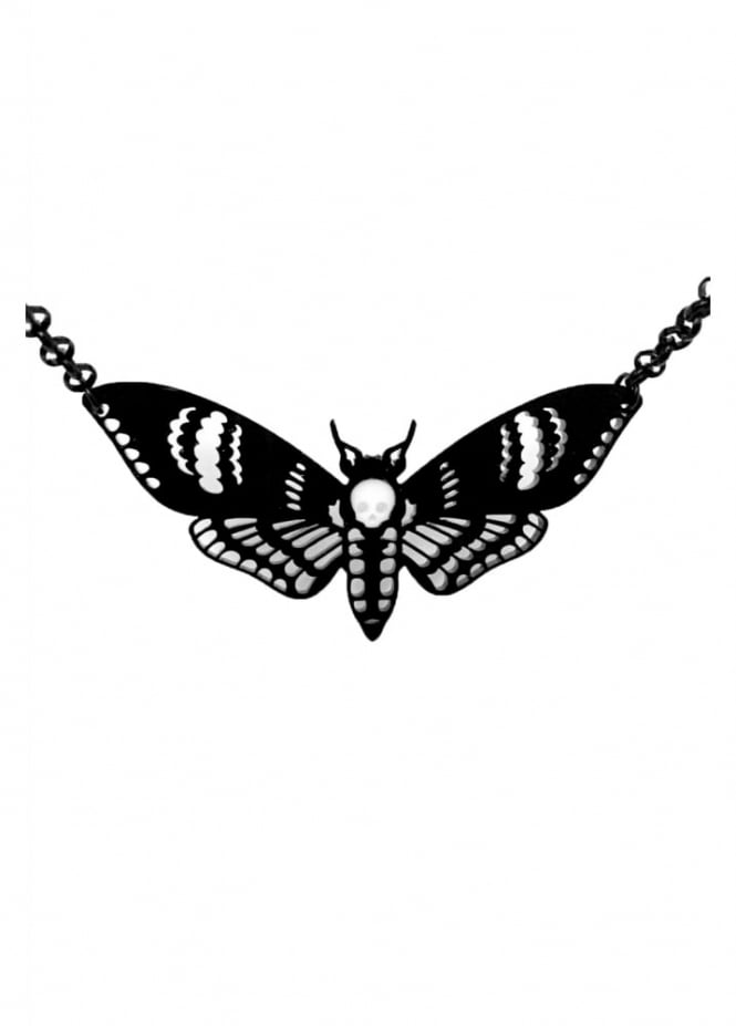 Curiology Deaths Head Moth Necklace