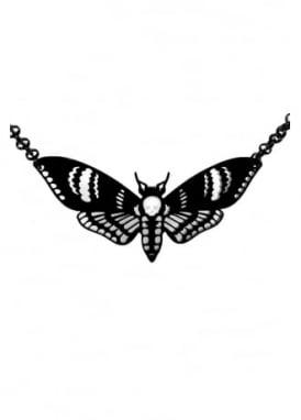 Deaths Head Moth Necklace