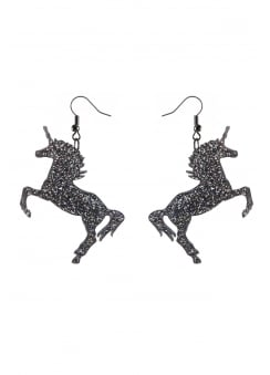 Glitter Unicorn Earrings