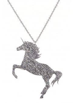 Glitter Unicorn Necklace