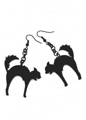 Hell Cat Earrings