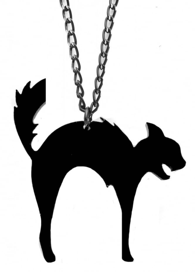 Curiology Hell Cat Necklace