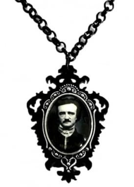 Little Horrors Poe Necklace