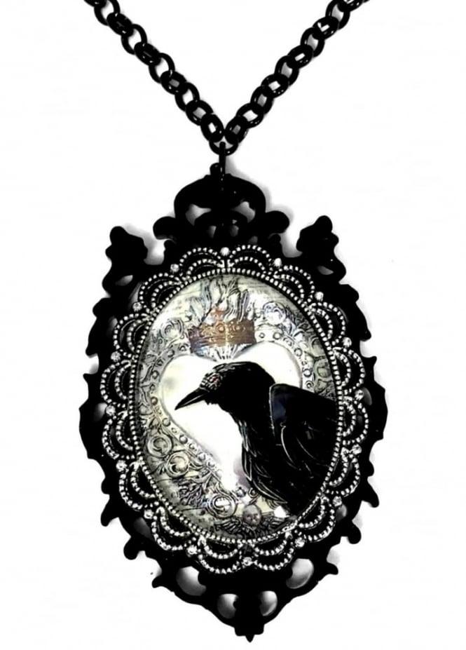 Curiology Little Horrors Raven Necklace