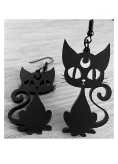 Luna Cat Earrings