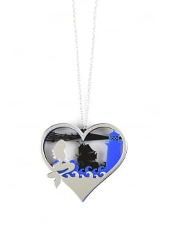 Siren Diorama Necklace