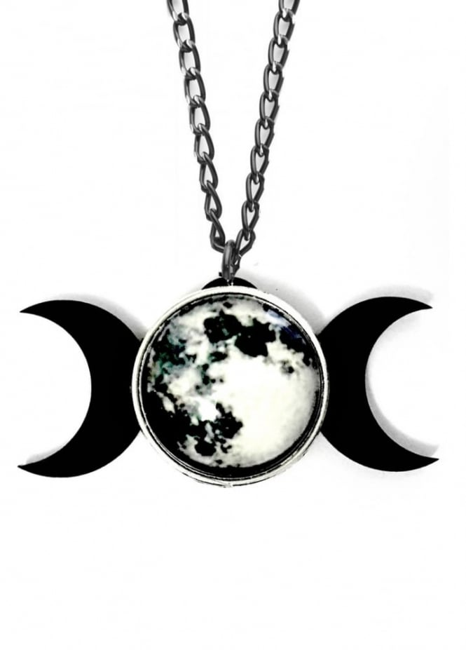Curiology Triple Goddess Necklace