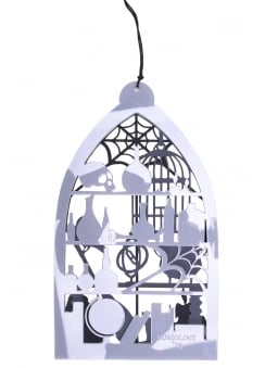Witches Workroom Window & Wall Art