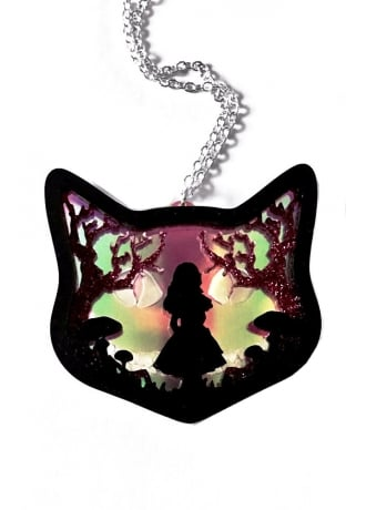 Curiology Wonderland Layered Diorama Necklace