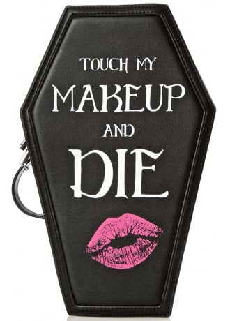 Current Mood Coffin Cosmetic Case