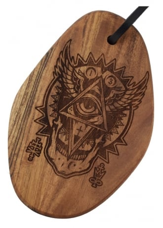 Darkside Clothing All Seeing Eye Acacia Chopping Board