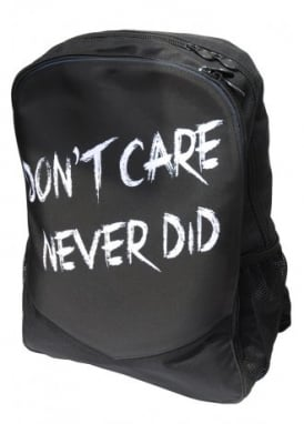 Don't Care Never Did Backpack