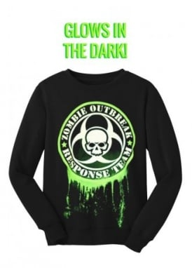 Glow In The Dark Zombie Response Sweatshirt